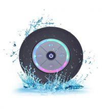 Ventouse Enceinte bluetooth waterproof noir - Enceinte surround