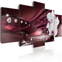 Tableau - Diamond dew .Taille : 200x100 - Décoration murale