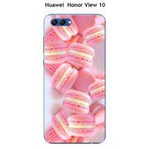Coque Huawei Honor View 10 design Macarons roses - Etui pour téléphone mobile