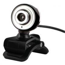 Microphone caméra HD Caméra vidéo webcam 360 degrés - Webcam