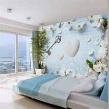 Papier peint - Spring key - Décoration, image, art | Vintage et Retro | - Décoration des murs