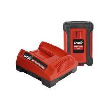 Batterie avec chargeur - 40v -li-ion starter 4ah - temps de charge 150 min - Accessoires piscines, spa et jacuzzis