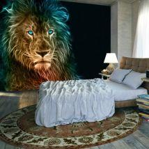 Papier peint - Abstract lion - Décoration, image, art | - Décoration des murs