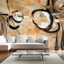 Papier peint | Disharmony | 100x70 | Abstractions | Moderne - Décoration des murs