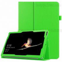 Etui Coque De Protection En Cuir Pu Folio Ultra-mince Pour Surface Go - Vert