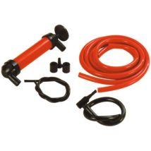 Carpoint Pompe à siphon 3-en-1 rouge / noir plastique 22 cm - Lubrifiants pour outillage