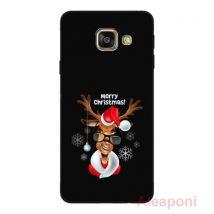 Coque Etui pour Samsung Galaxy A3 2016 A310 Smartphone Merry Christmas silicone gel - Etui pour téléphone mobile