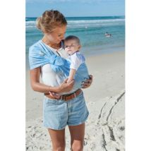 Porte-bébé Sling SUKKIRI Bleu ciel - Porte-Bébés