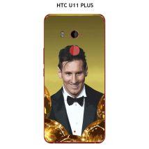 Coque HTC U11 PLUS design Messi le ballon d'or