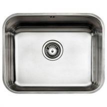 Evier simple Teka 10125122 BE-50.40 PLUS Acier inoxydable - Installations cuisine