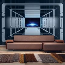 Papier peint - Galactic Gates .Taille : 400x280 - Décoration des murs