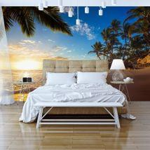Papier peint | Tropical Beach | 300x210 | Paysages | Mer - Décoration des murs