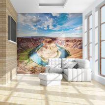 Papier peint | Horseshoe Bend canyon | 250x193 | Paysages | Désert | - Décoration des murs