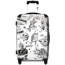 Valise moderne NOS-0428-MLT - 60 cm - 45 litres - bagage soute - Valises