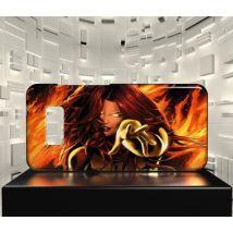 Coque Design Galaxy S10E PHOENIX X MEN COMICS 03 - Etui pour téléphone mobile