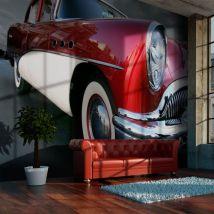Papier peint | Voiture de luxe américaine | 200x154 | Hobby | Moto - Décoration des murs