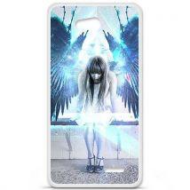 Coque en silicone LG L90 - Angel - Etui pour téléphone mobile