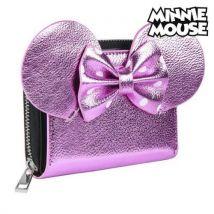 Portefeuille Minnie Mouse Porte-cartes Rose Métallisé 70688 - Autres