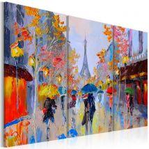 Tableau - Rainy Paris .Taille : 120x80 - Décoration murale