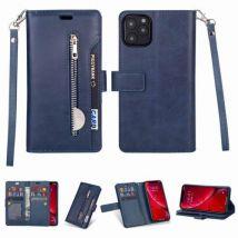 Etui Coque De Protection Multifonctionnel Pour Samsung Galaxy M20 - Bleu Foncé