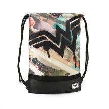 Karactermania Wonder Woman Collage-Storm Drawstring Bag Sac à cordon, 47 cm, Marron (Brown) - Sacs et housses de sport