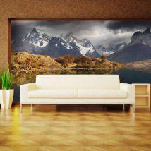 Papier peint   Torres del Paine National Park   200x154   Paysages   Montagnes - Décoration des murs