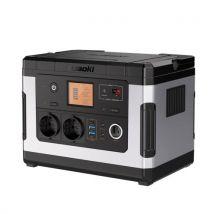 Source D'alimentation SUAOKI G500 PowerOak 500Wh Batterie Externe Power Station QC3.0 pour Camping et Sauvegarde D'urgence, Noir - Chargeurs, batterie