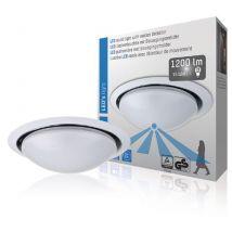 LED's Light SHA-00800503 Plafonnier Led avec Capteur 15 W Blanc - Equipements et sécurité pour la maison