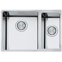 Smeg Vstr3418 – 2 Undermount Kitchen Sink Rectangular Stainless Steel Sink – Kitchen Sinks (undermount Kitchen Sink, Rectangular, Stainless Steel, Sta