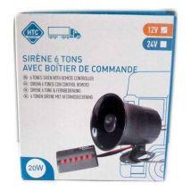 Sirene 6 tons - 12V - Kits d'accessoires pour outillage électroportatif