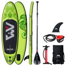 Stand Up Paddle gonflable BREEZE et ses accessoires - Planches de sports nautiques