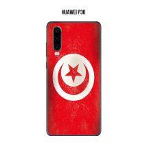 Coque Drapeau Tunisie vintage pour Huawei P30 - Etui pour téléphone mobile