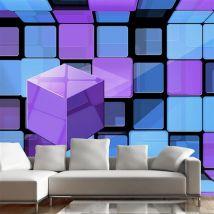 Papier peint - Rubik's cube: variation - Artgeist - 350x245 - Décoration des murs