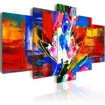 Tableau - Power of Colours - Artgeist - 200x100 - Décoration murale