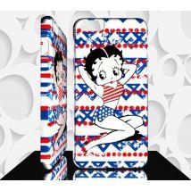 Coque compatible pour Samsung Galaxy A70 BETTY BOOP - Réf 11 - Etui pour téléphone mobile