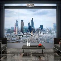 Papier peint - City View - London .Taille : 250x175 - Décoration des murs
