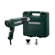Metabo He 20 – 600 – Pistolet A Air Chaud 2000 W, Mallette - Agrafeuses et cloueuses à main