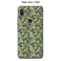 Coque TPU gel souple Wiko View 2 PRO design Chat camouflage - Etui pour téléphone mobile