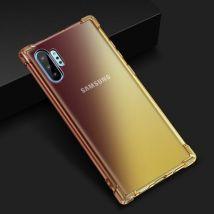 Coque En Tpu Antichoc Magnifique Avec Airbag Pour Samsung Galaxy Note 10 - Noir&or
