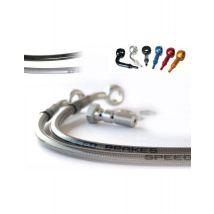 Durite Aviation SPEEDBRAKES inox/raccord or - Accessoires de sports motorisés