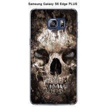 Coque Tete de mort 2 pour Samsung Galaxy S6 Edge Plus - Etui pour téléphone mobile