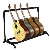 COOCHEER 7 supports pliant pour les guitares basses électriques acoustiques classiques - Accessoire pour guitare
