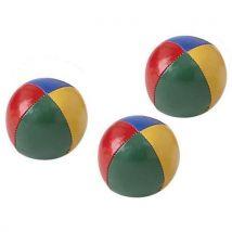 Balle à jongler - Lot de 3 - Diamètre : 65 mm – Poids : 105 gr - Ballons