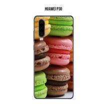 Coque Macarons 2 pour Huawei P30 - Etui pour téléphone mobile