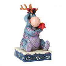 Disney Traditions Bourriquet Figurine de Noël 'Winter Wonders' - Objet à poser