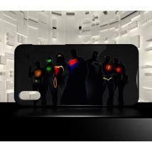 Coque compatible pour Samsung Galaxy A70 JUSTICE LEAGUE COMICS 03 - Etui pour téléphone mobile