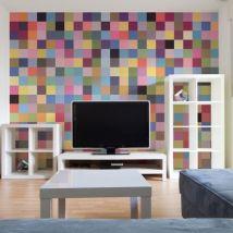 Papier peint - Palette complète de couleurs - Décoration, image, art | Fonds et Dessins | Géométrique | - Décoration des murs