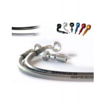 Durite Aviation SPEEDBRAKES inox/raccord titane - Accessoires de sports motorisés