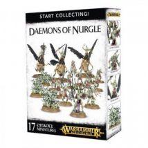 Start Collecting! Daemons of Nurgle 70-98 - Warhammer Age of Sigmar - Jeux de voyage