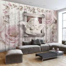 Papier peint - Sweet little Angel .Taille : 150x105 - Décoration des murs